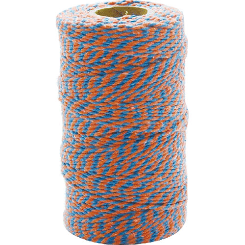 TWISTED STRING ORANGE/BLUE