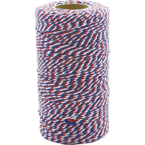 TWISTED STRING WHITE/BLUE/RED