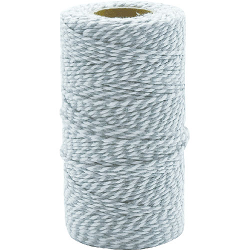 TWISTED STRING WHITE/GRAY