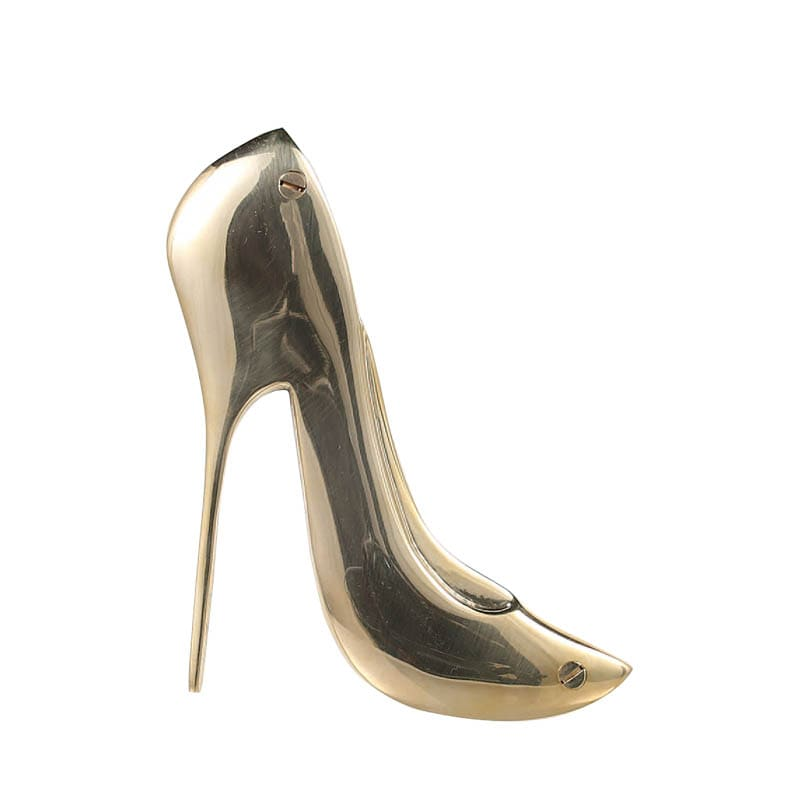 "BRASS SIGN ""HIGH-HEELED SHOE"""