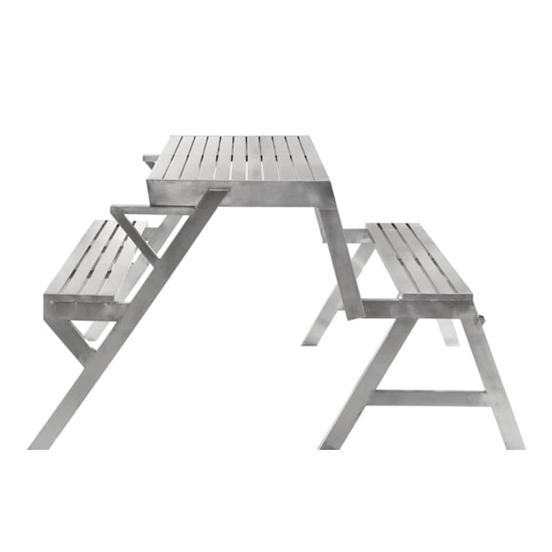 STAINLESS TABLE & BENCH DOUBLE