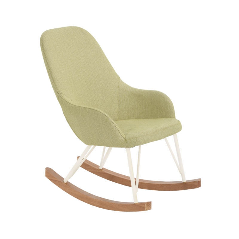 "ROCKING CHAIR S ""HERRINGBONE MUSTARD"""