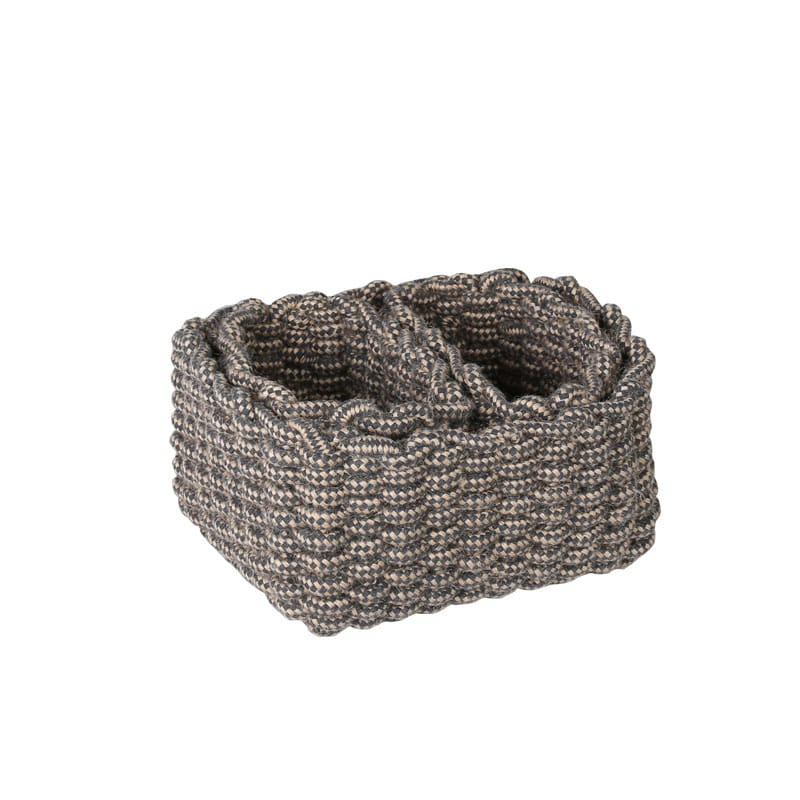MIXED ROPE BASKET 3PCS SET