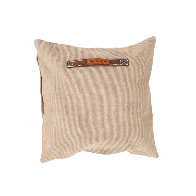 CORDUROY CUSHION 45 BEIGE