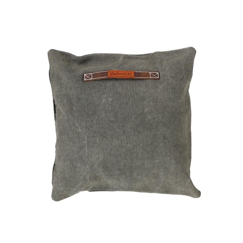 CORDUROY CUSHION 45 OLIVE