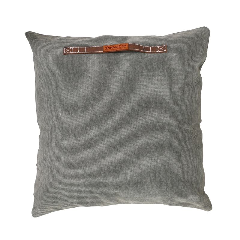 CORDUROY CUSHION 60 OLIVE