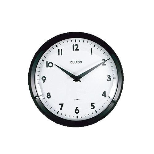 WALL CLOCK BLACK