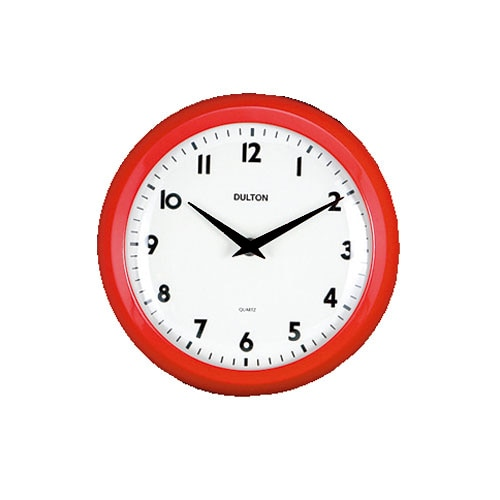 WALL CLOCK RED