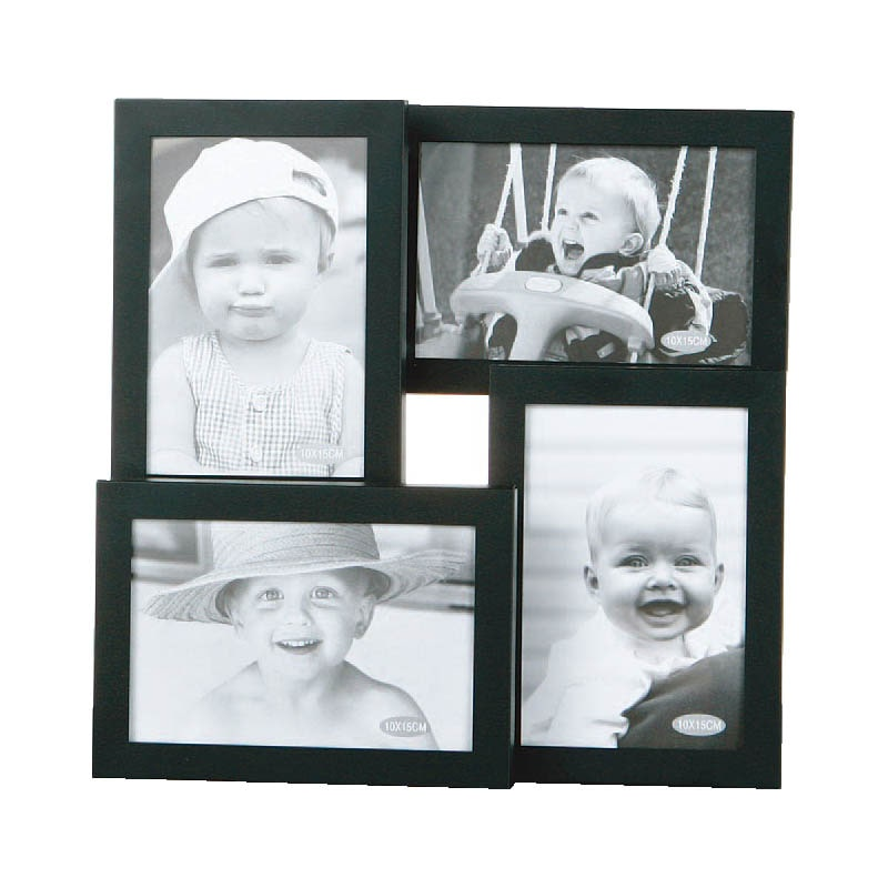 ALUMINUM FRAME ''4 in one'' BLACK