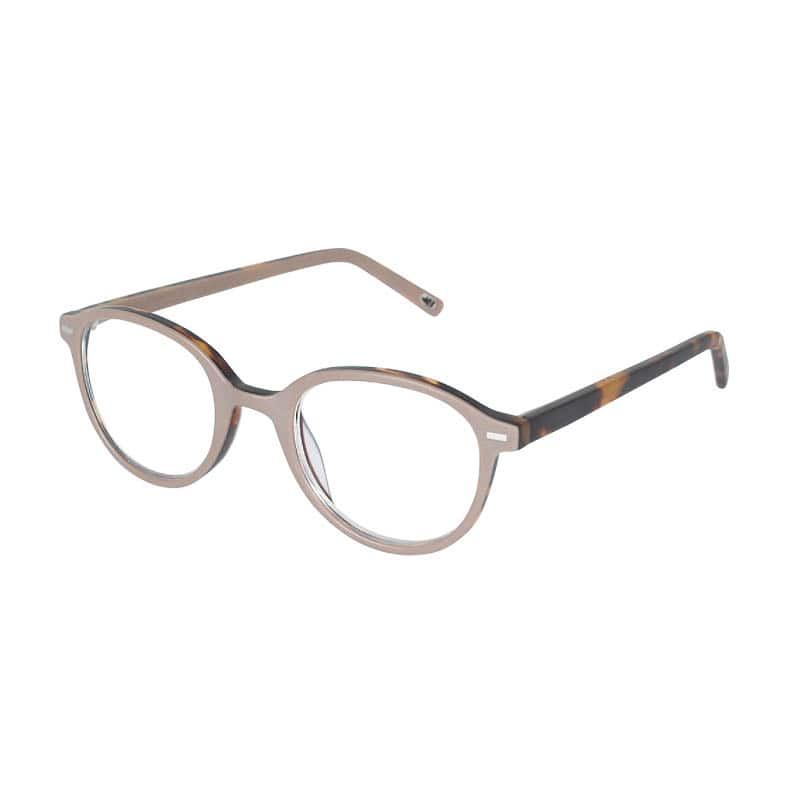 READING GLASSES BROWN-TOR