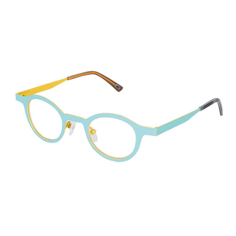 READING GLASSES LIGHT BLUE 1.0