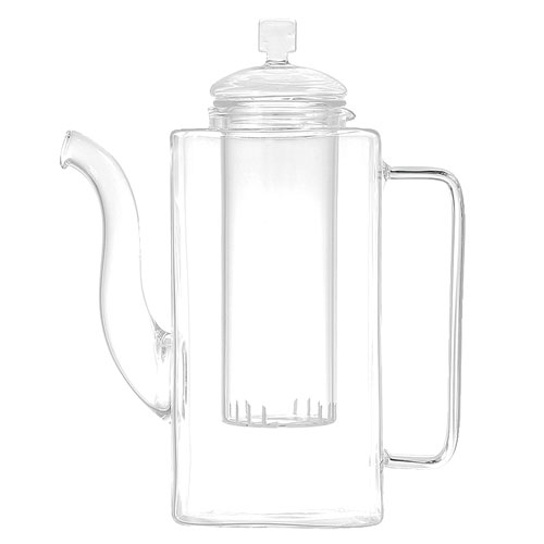 GLASS TEA POT  SQUTAN 750ml