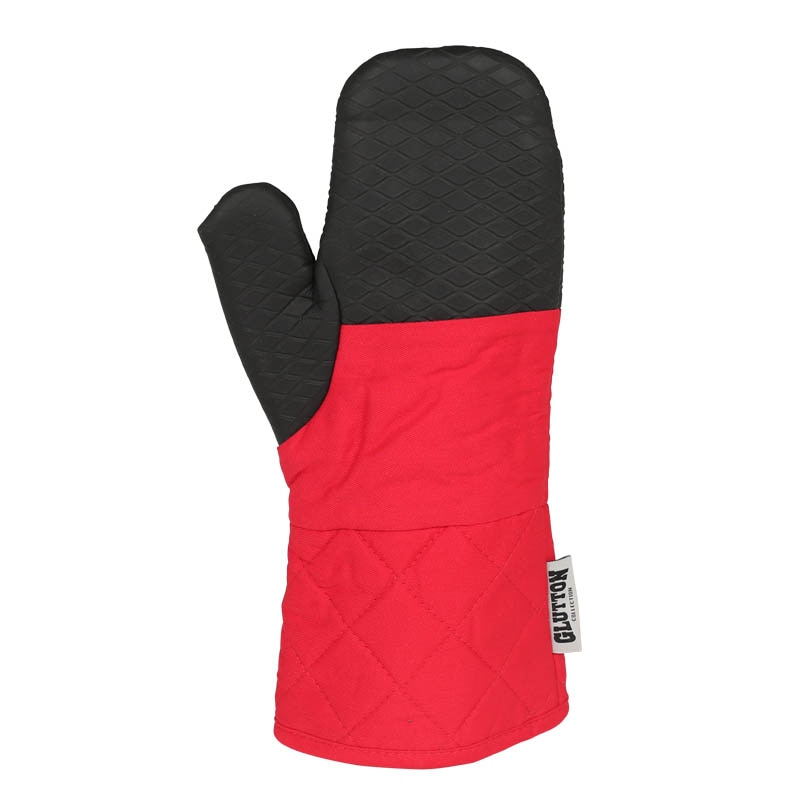 GLUTTON OVEN GLOVE RED