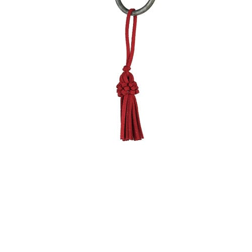 KEY TASSEL RED
