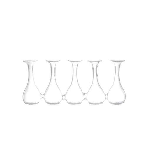 GLASS VASE Sparaxis Parade A