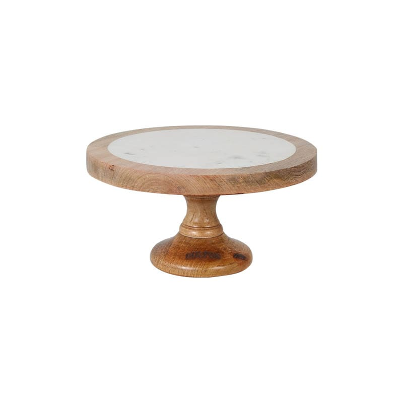 MARBLE-MANGO WOOD STAND S