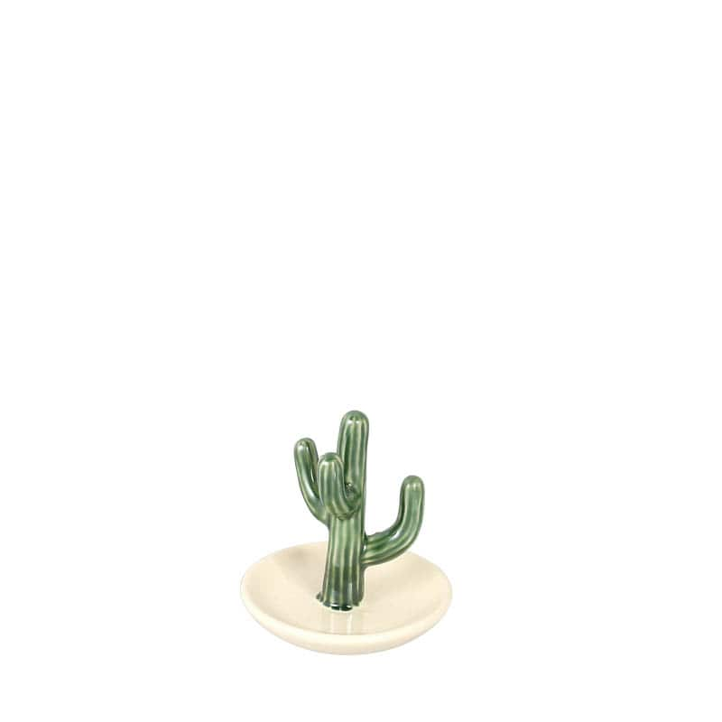CACTUS RING HOLDER w/TRAY SAGUARO