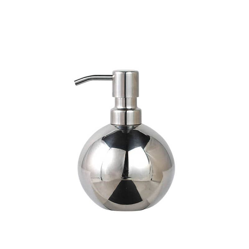 """BUBBLE SOAP DISPENSER """"GLOBO""""/MIRROR FINISH"""