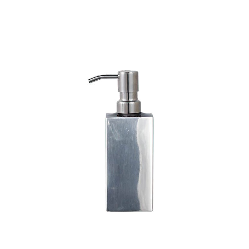 "BUBBLE SOAP DISPENSER ""PRISMA"" /MIRROR FINISH"