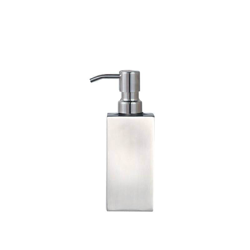 "BUBBLE SOAP DISPENSER ""PRISMA"" /SATIN FINISH"