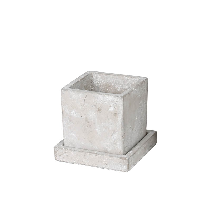 SOLID PLANTER CUBE S PLAIN