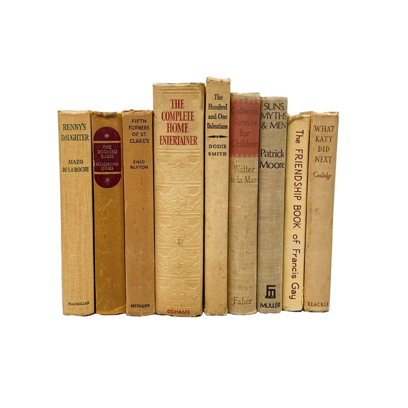 USED BOOK YELLOW-25cm