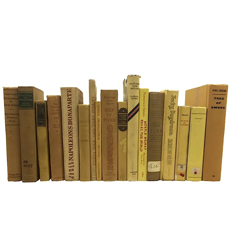 USED BOOK YELLOW-50cm