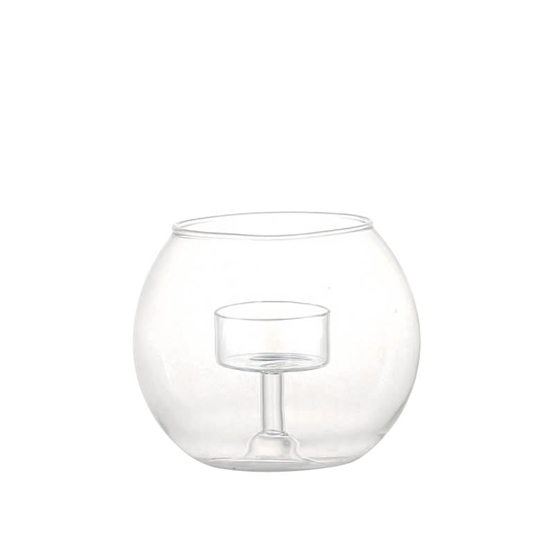 CANDLE HOLDER  GLASSBALL M
