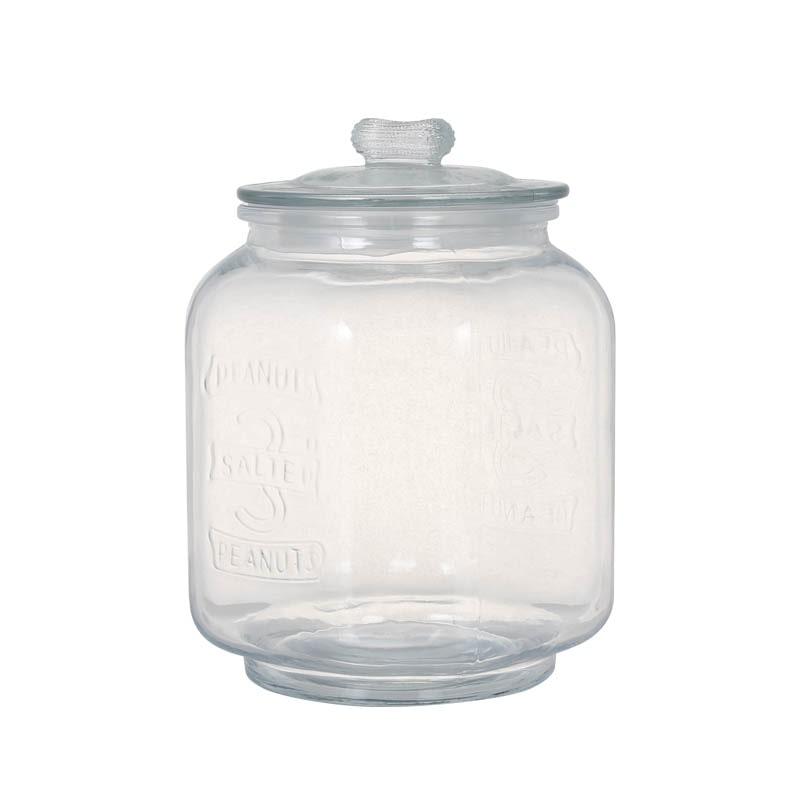 GLASS COOKIE JAR 3L