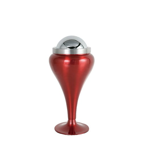 DESK TOP ASHTRAY BALL POINT RED