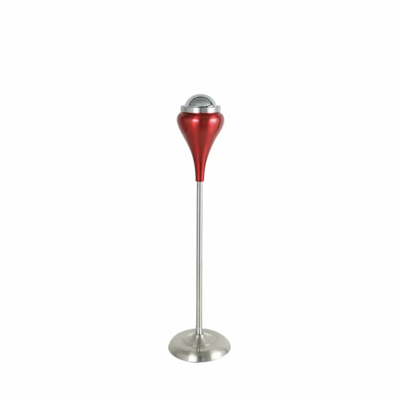 STAND ASHTRAY BALL POINT RED