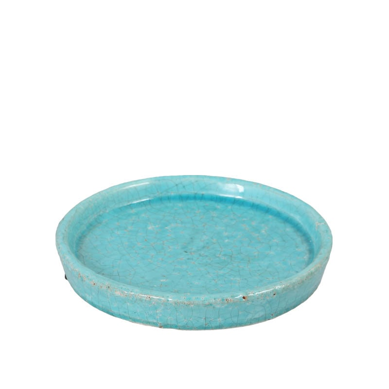 COLOR GLAZED SAUCER TQIS