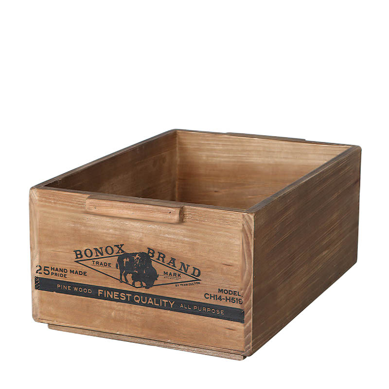 WOODEN BOX STACKING BOX B