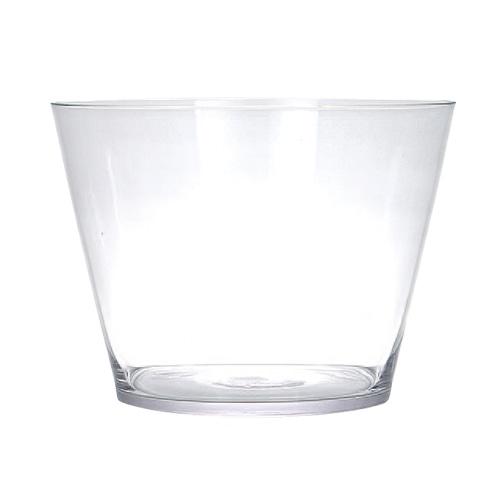 GLASS VASE CUBO L