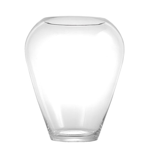 GLASS VASE ''POT'' S