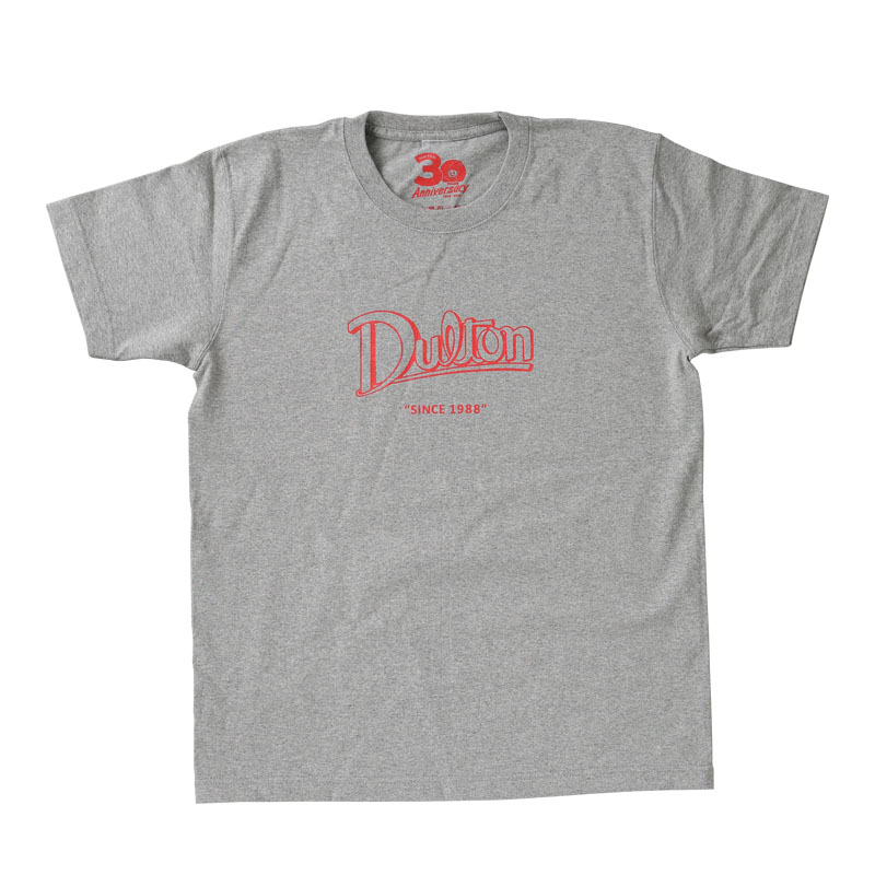 DULTON 30th-Anniversary T-SHIRTS GRAY M