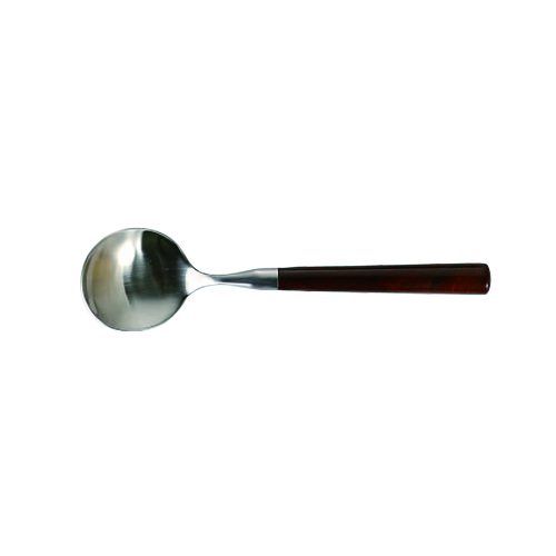 BAKELITE  BROWN SOUP SPOON
