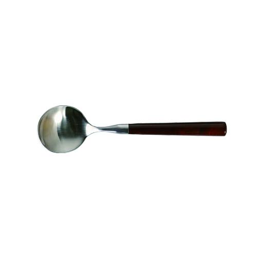 BAKELITE  BROWN SOUP SPOON