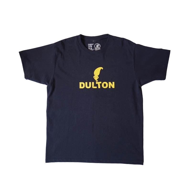 "DULTON T-SHIRTS ""SKIP"" NB/YL L"