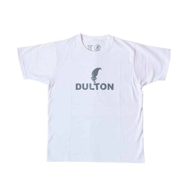 """DULTON T-SHIRTS """"SKIP"""" WT/LGY M"""
