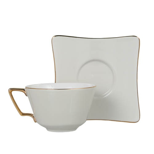 CUP & SAUCER Numelo 3 IVR