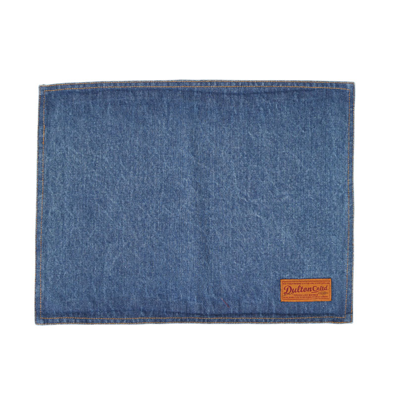 PLACE MAT WASHED DENIM
