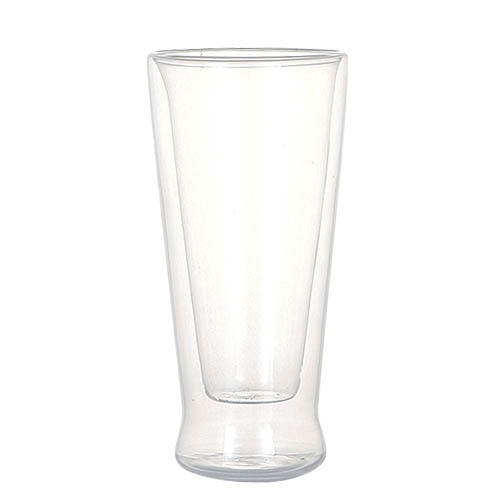 DOUBLE WALL GLASS TUMBLER 320ml