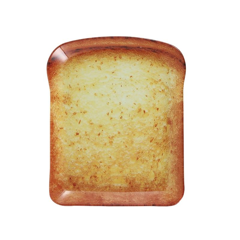 GLASS FARMER PLATE BREAD