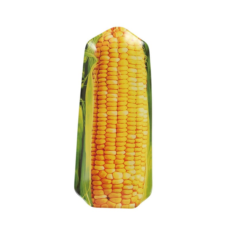GLASS FARMER PLATE CORN