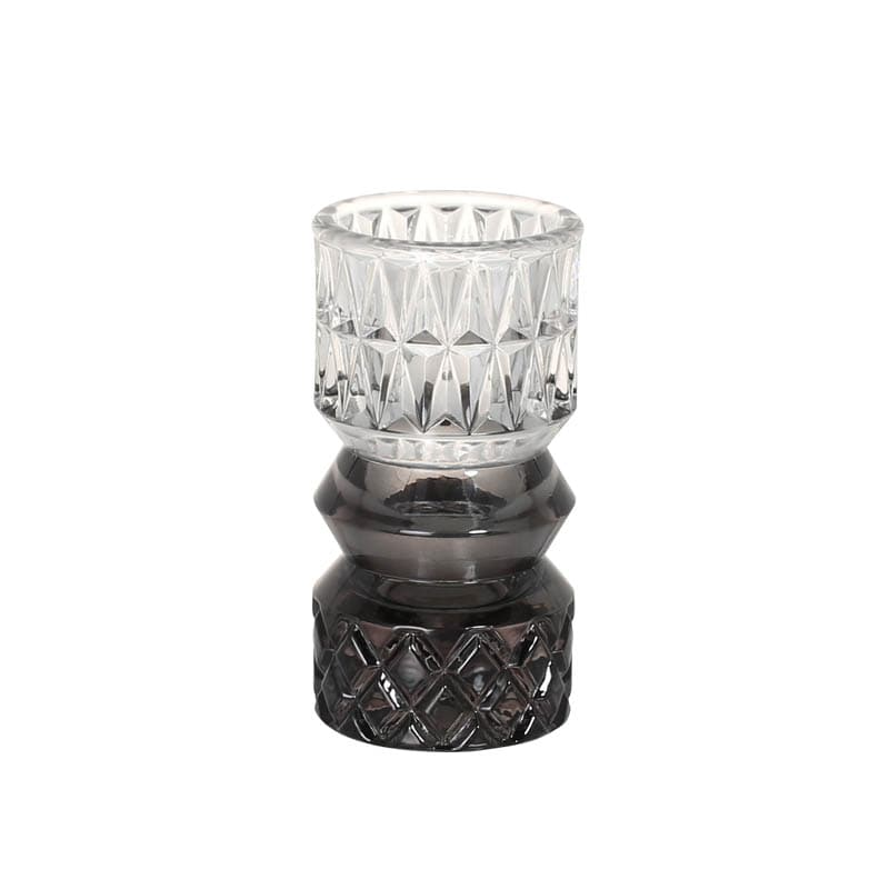 GLASS VASE BLACK