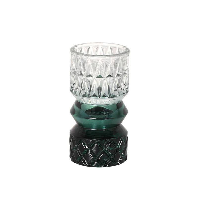 GLASS VASE EMERALD