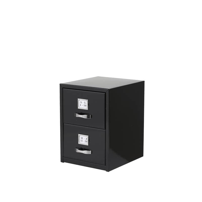 METAL CARD CABINET BLK