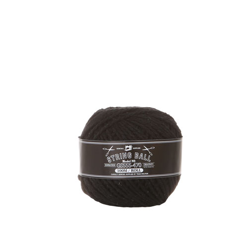 STRING BALL BLACK