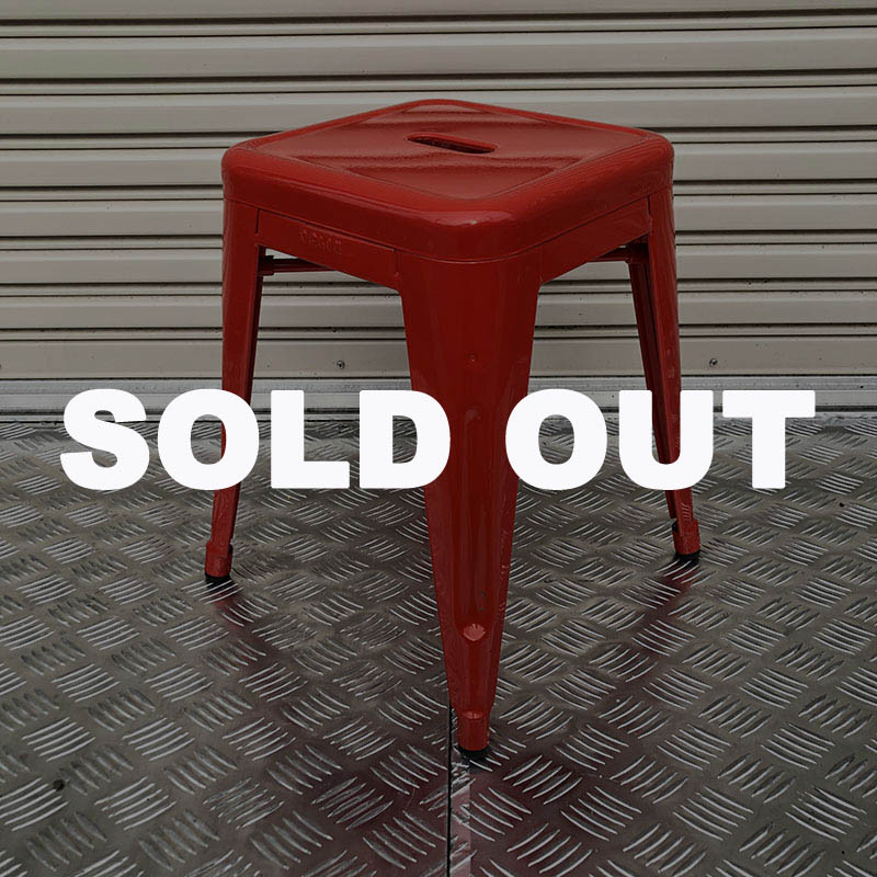 FOOT STOOL (S) RED